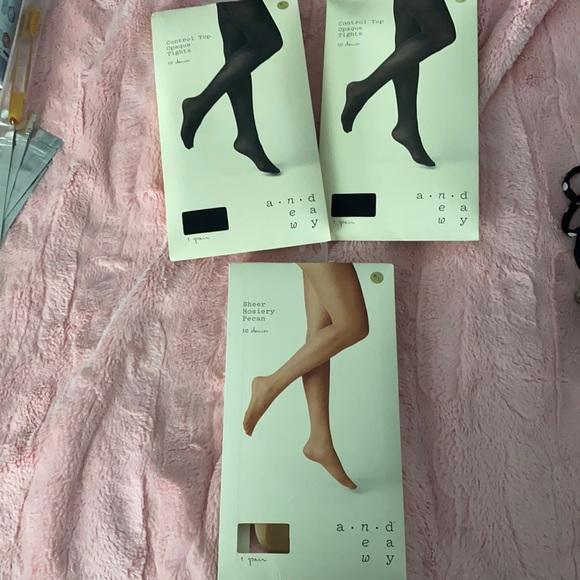 NWT A NEW DAY tights, nylons, pantyhose